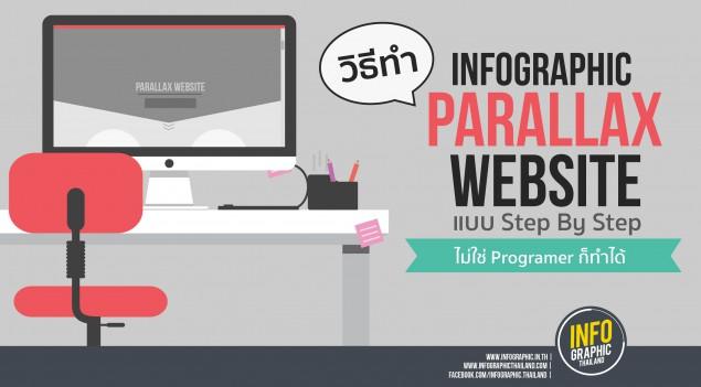 Parallax Website ทำได้ง่ายใน 4 ขั้นตอน