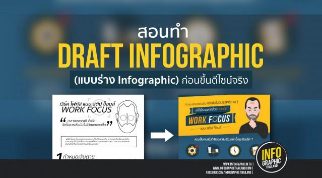 สอนทำ Draft Infographic (แบบร่าง Infographic) ก่อนขึ้นดีไซน์จริง