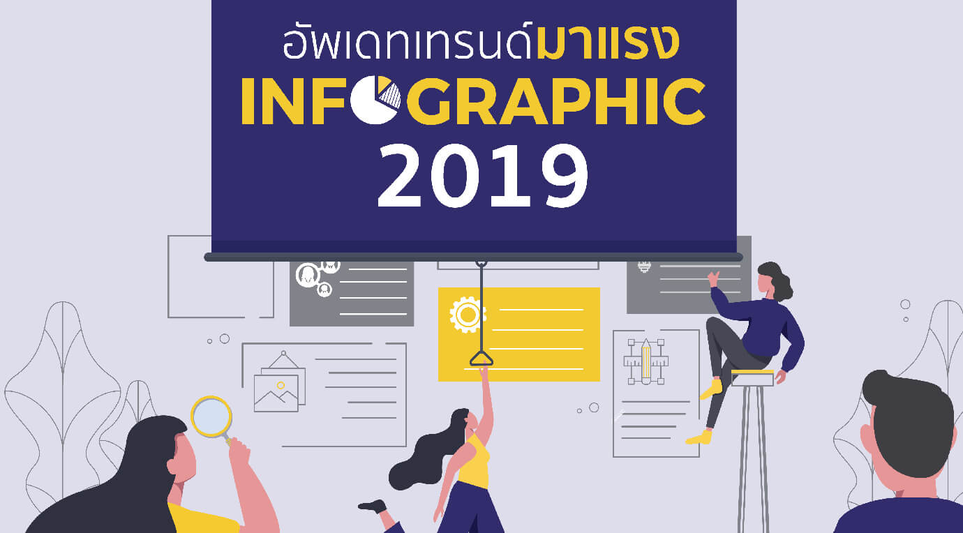 อัพเดทเทรนด์  Infographic มาแรงในปี 2019